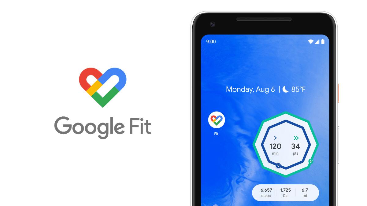 Google Fit dostává vánoční aktualizaci