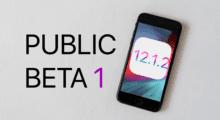 Apple vydal první veřejnou beta verzi iOS 12.1.2