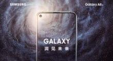Oficiálně: Samsung Galaxy A8s – první mobil s dírou v displeji představen