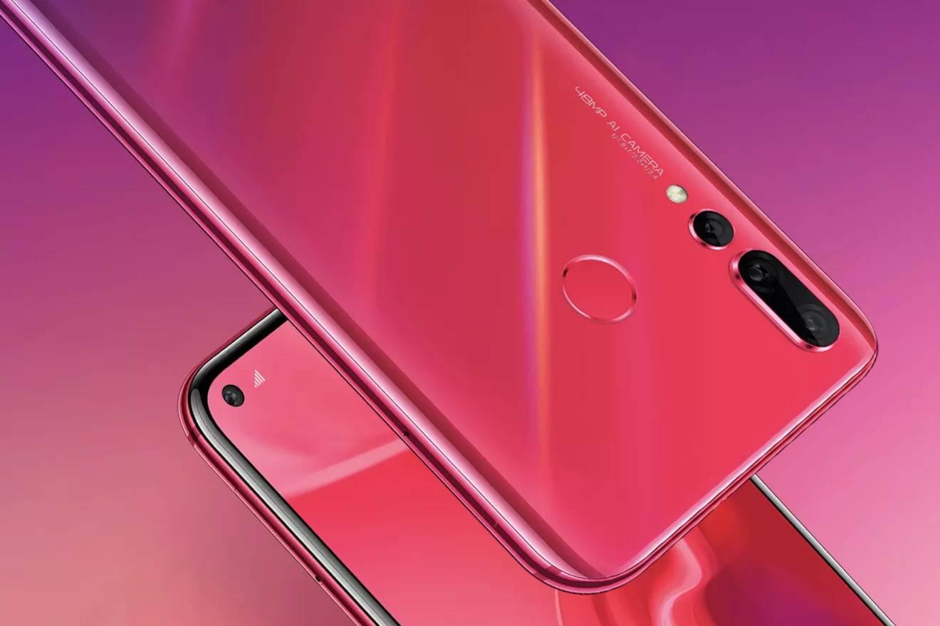 Huawei Nova 4 s dírou v displeji představen