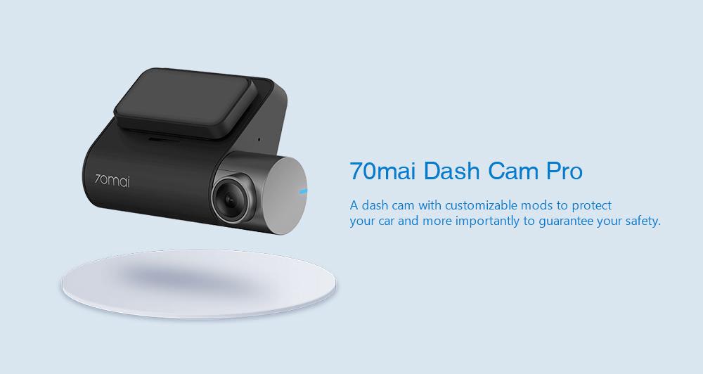 Nová kamerka Xiaomi 70mai Dash Cam Pro jen nyní za pár korun! [sponzorovaný článek]