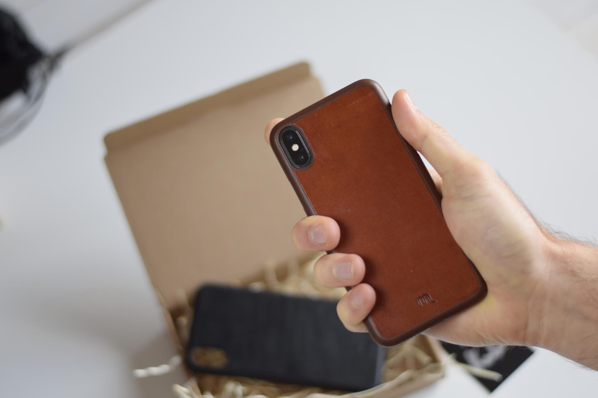 Kožený obal Lemory na iPhone X [uživatelská zkušenost]