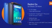 Redmi Go oficiálně představen, levný mobil s Android Go [aktualizováno]