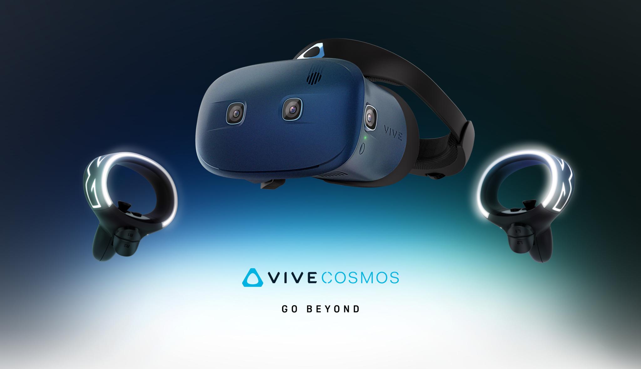 HTC představuje novinky v oblasti virtuální reality [CES]