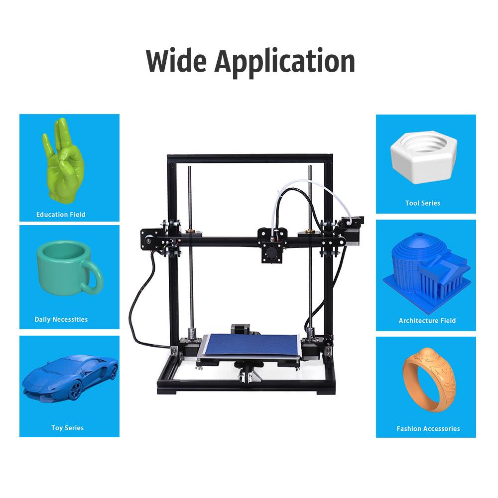 c60e754dc80 Domácí 3D tiskárna TRONXY X3 je nyní k dostání za nižší cenu ...