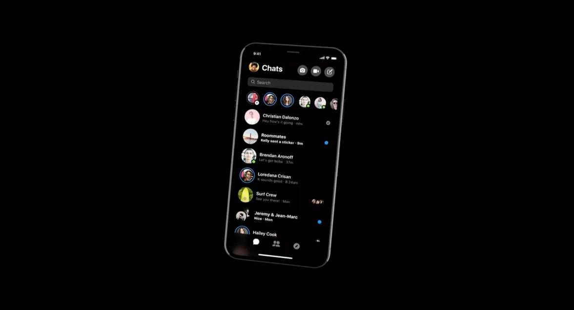 Facebook Messenger – návod na aktivaci tmavého vzhledu [aktualizováno]