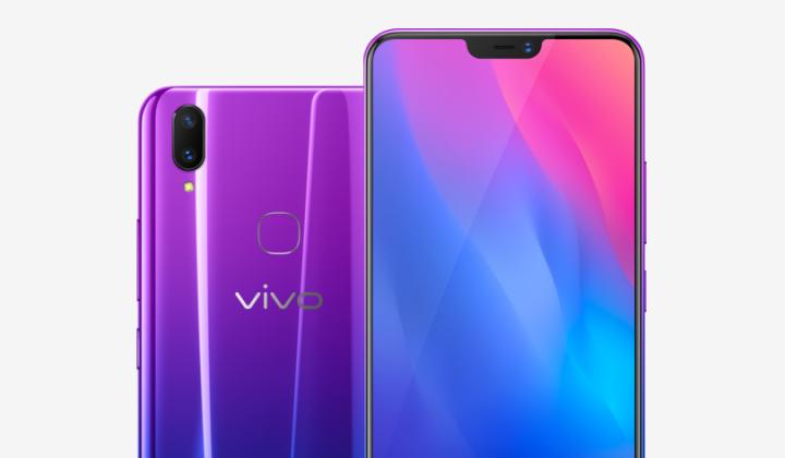 Vivo poprvé ukázalo model Y89