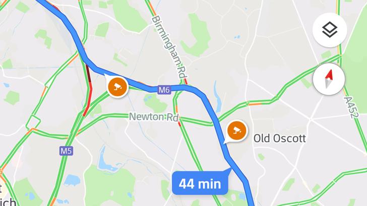 Google Mapy získávají ukazatel rychlosti a varují před rychlostním radarem [aktualizováno]