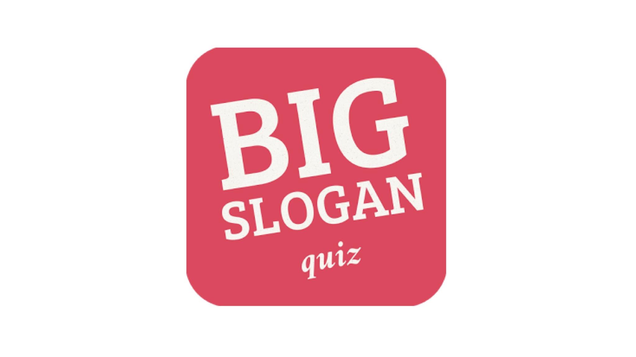 Znáte slogany známých firem? Big Slogan Quiz vás přesvědčí, že ne