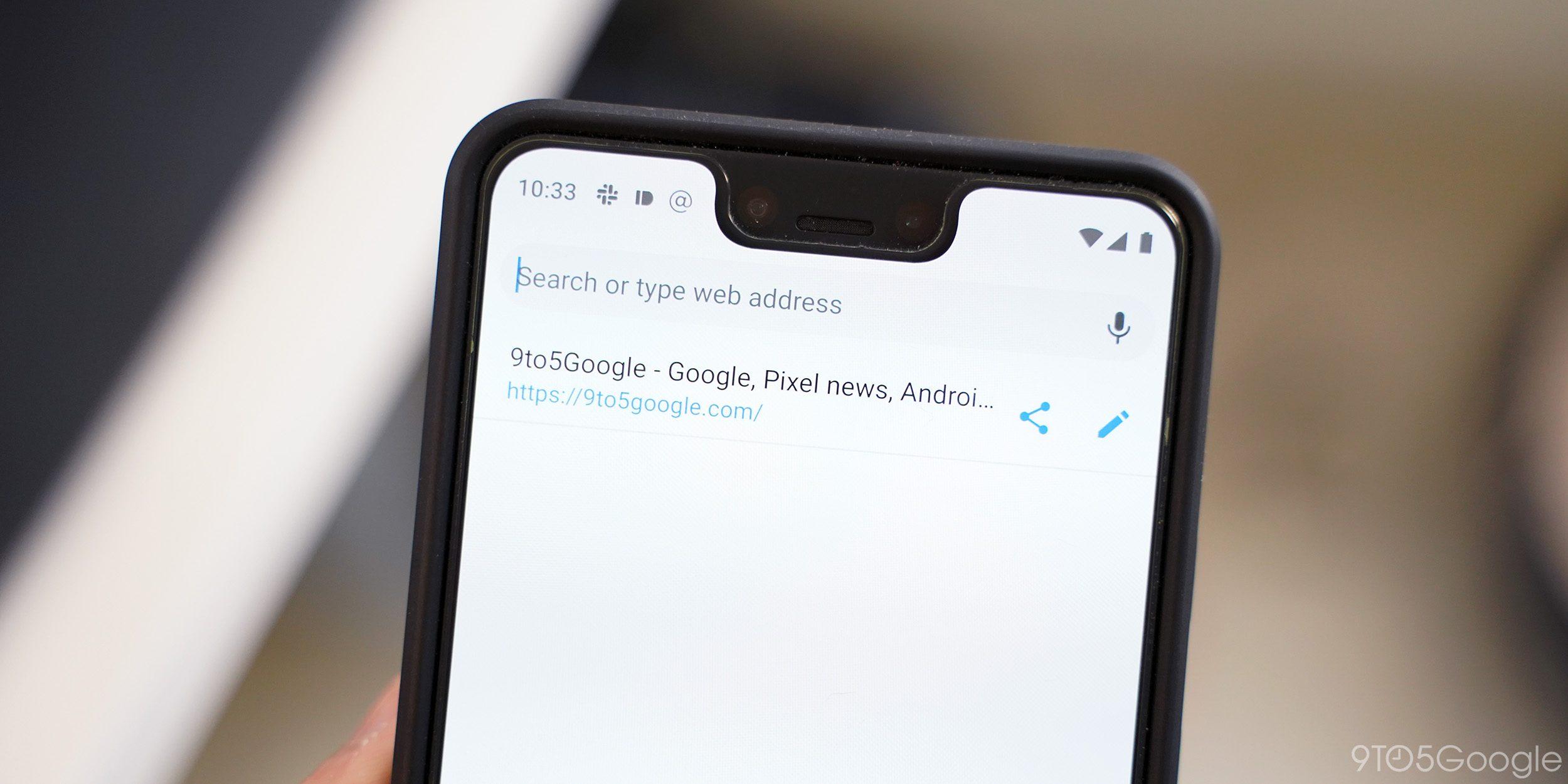 Chrome pro Android se dočkal nových funkcí pro URL adresy