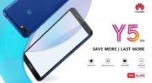 Huawei Y5 Lite cílí na nenáročné uživatele