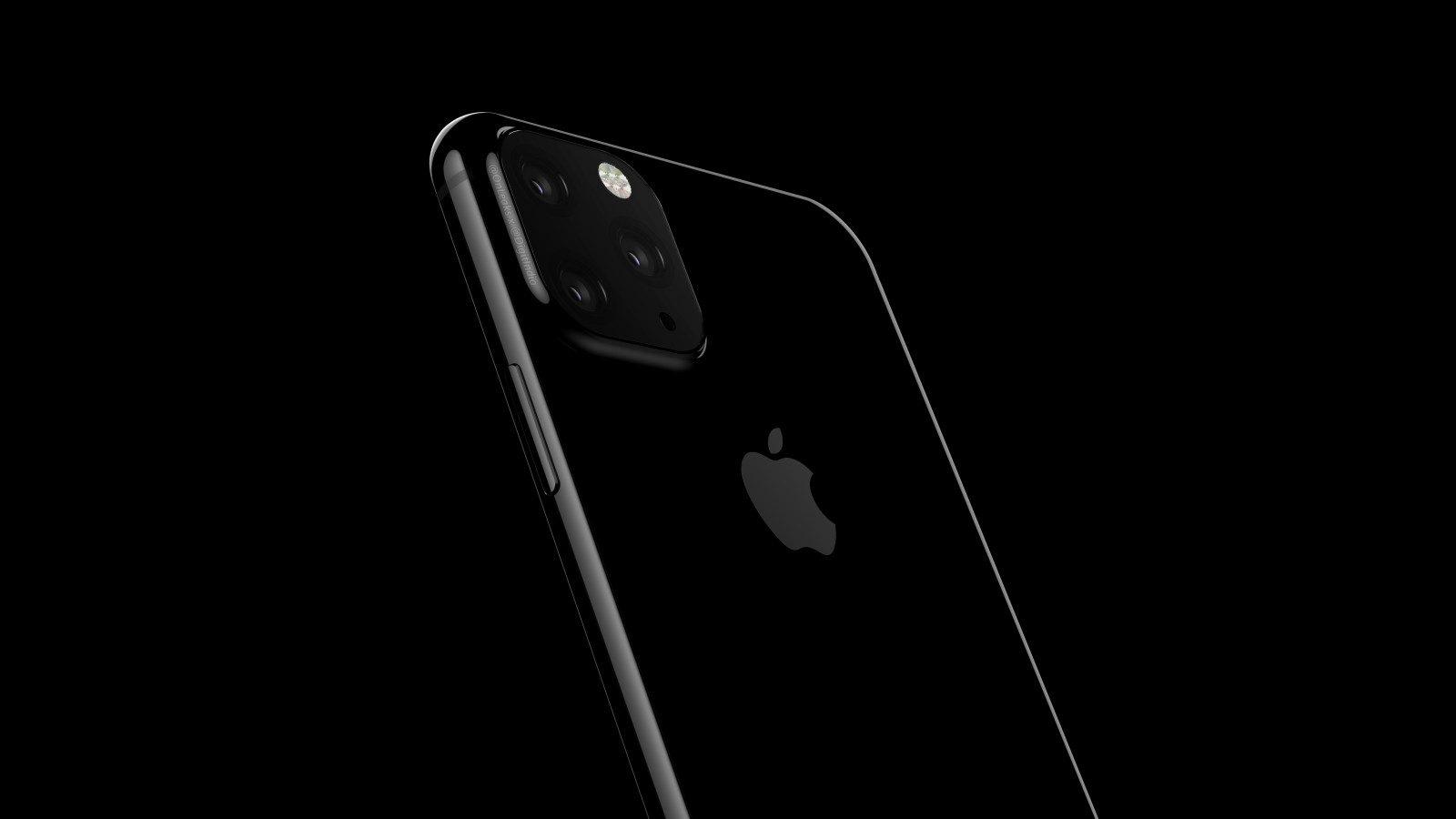 iPhone 11 údajně nabídne tři fotoaparáty a menší výřez v displeji [aktualizováno]