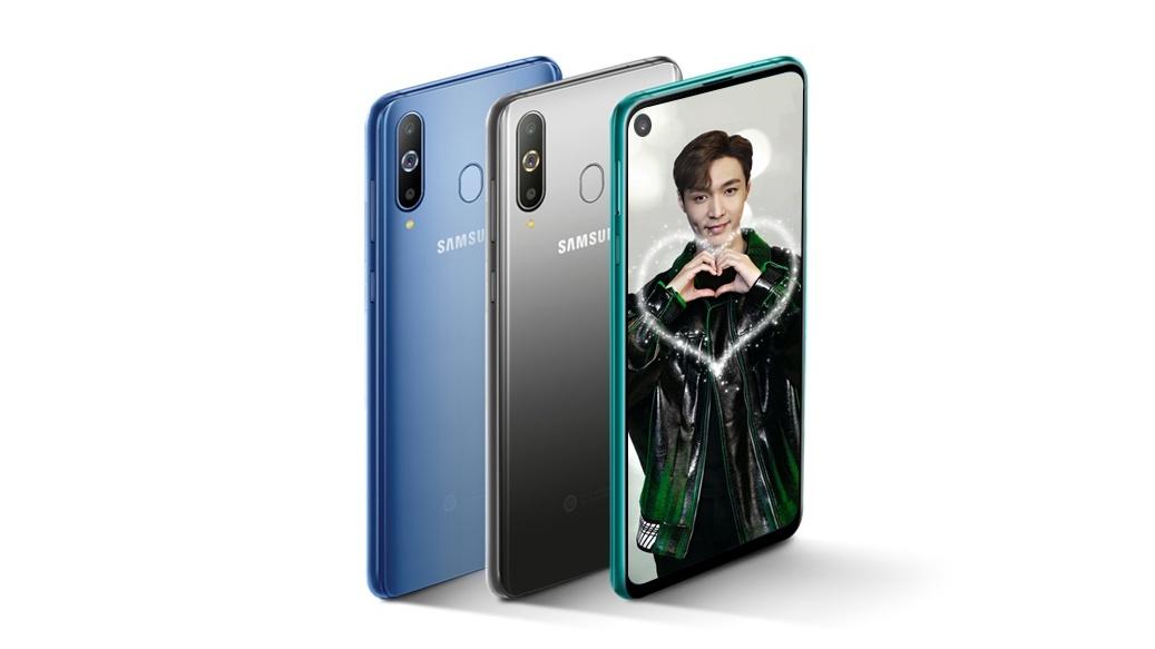"""Galaxy A9 Pro (2019) představen, """"jen"""" 4 foťáky a díra v displeji"""