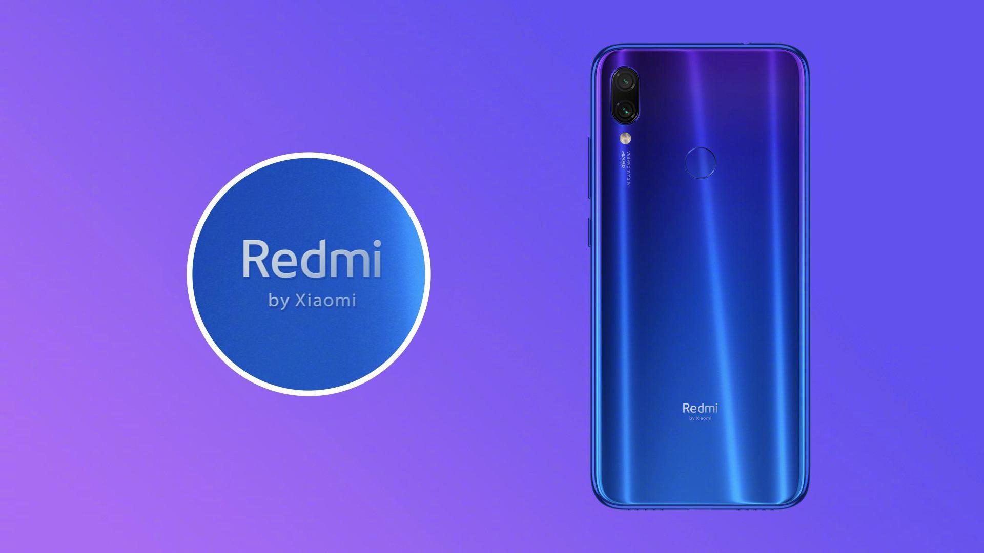 Redmi Note 7 – novinka pod značkou Redmi by Xiaomi