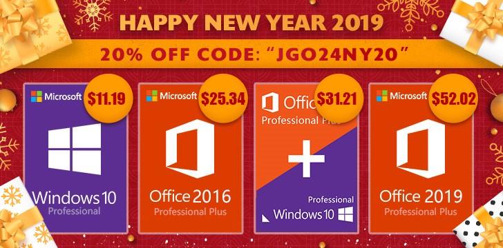 Goodoffer24: Novoroční nabídka zlevněného softwaru! [Sponzorovaný článek]