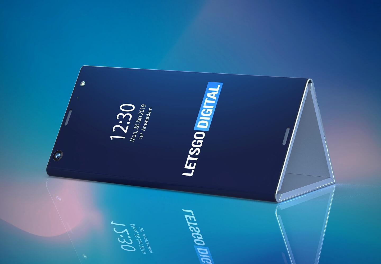 Intel – takto by mohl vypadat jeho první skládací telefon