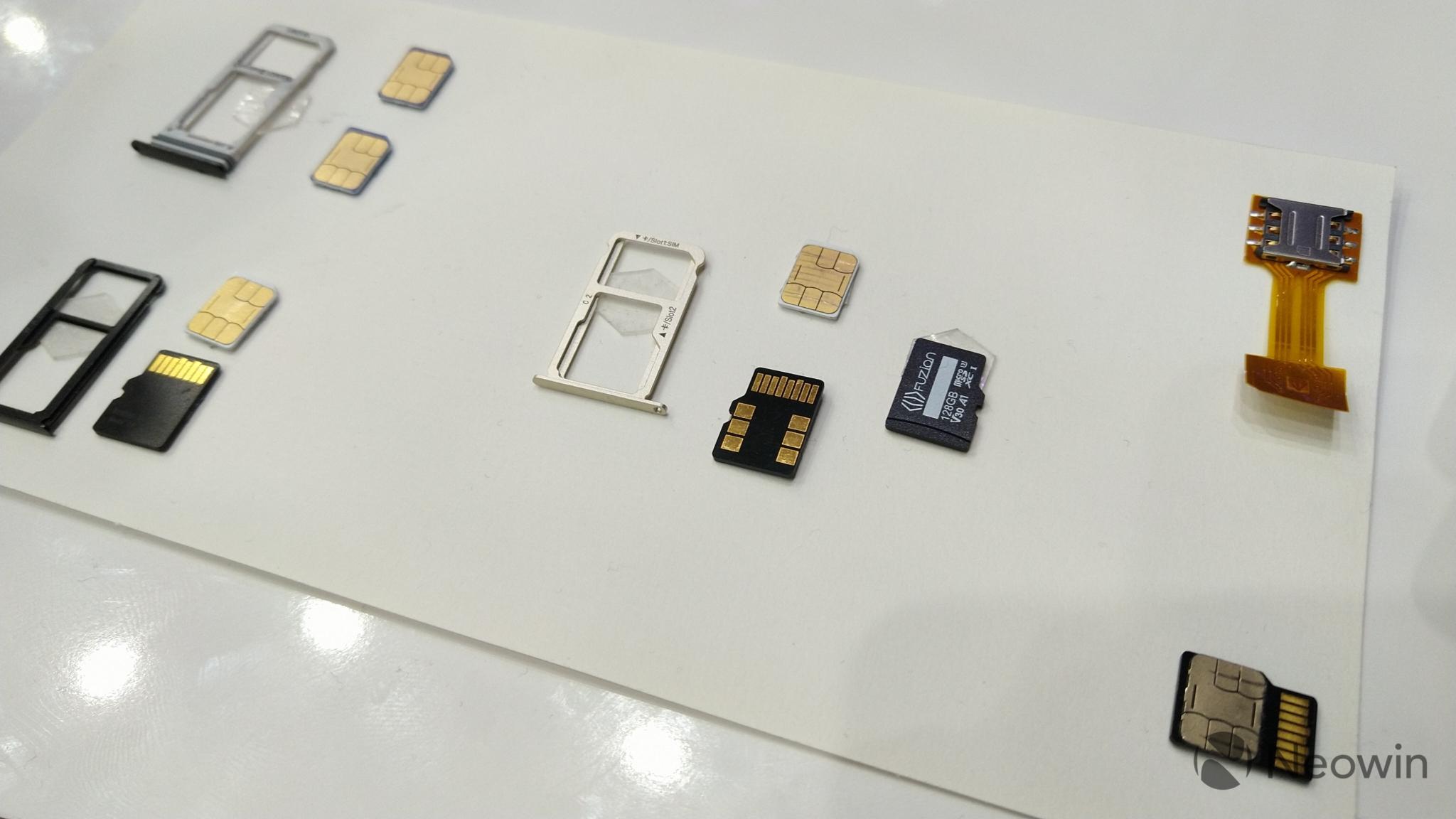 FuZion – microSD a SIM v jedné kartě [MWC]