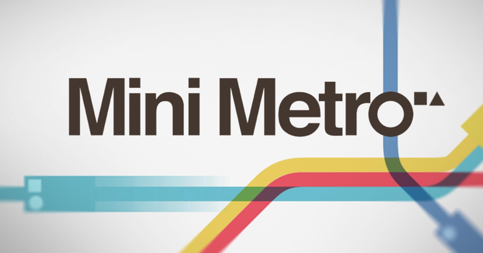 Mini Metro – navrhněte své vlastní vlakové šílenství [recenze]