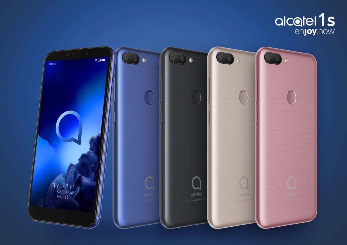 Alcatel představil modely 3 (2019), 1S a 3T 10, přijdou na český trh [MWC]