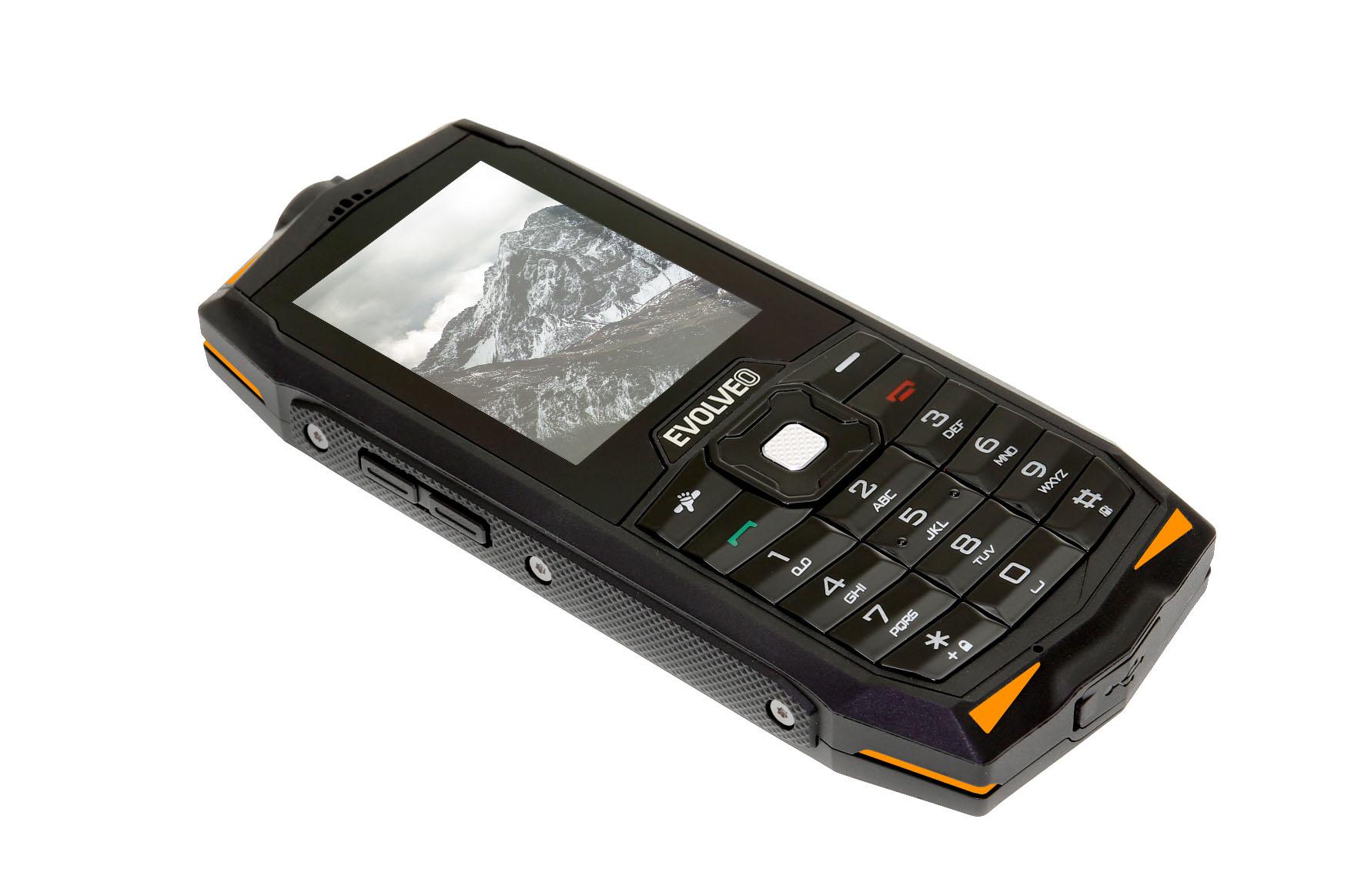 Strongphone Z33 od Evolveo nabídne odolný tlačítkový telefon