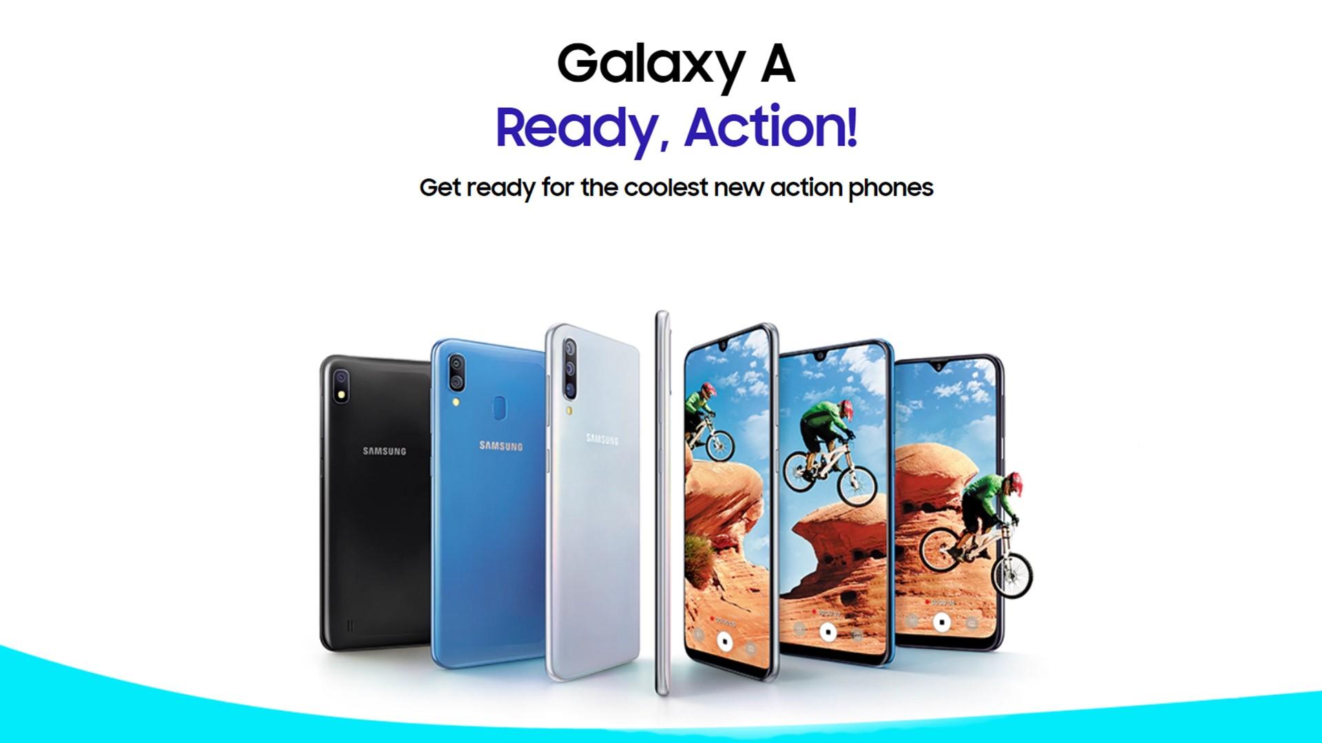 Samsung představil novinky v sérii Galaxy A, do Česka přijde Galaxy A50 [aktualizováno]
