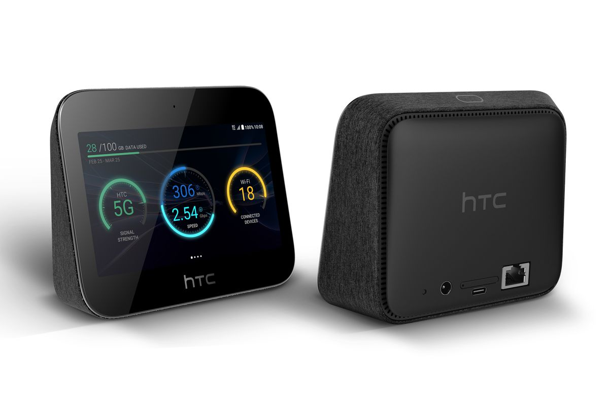 HTC 5G Hub nabízí 5palcový displej, rychlou Wi-Fi a podporu 5G [MWC]