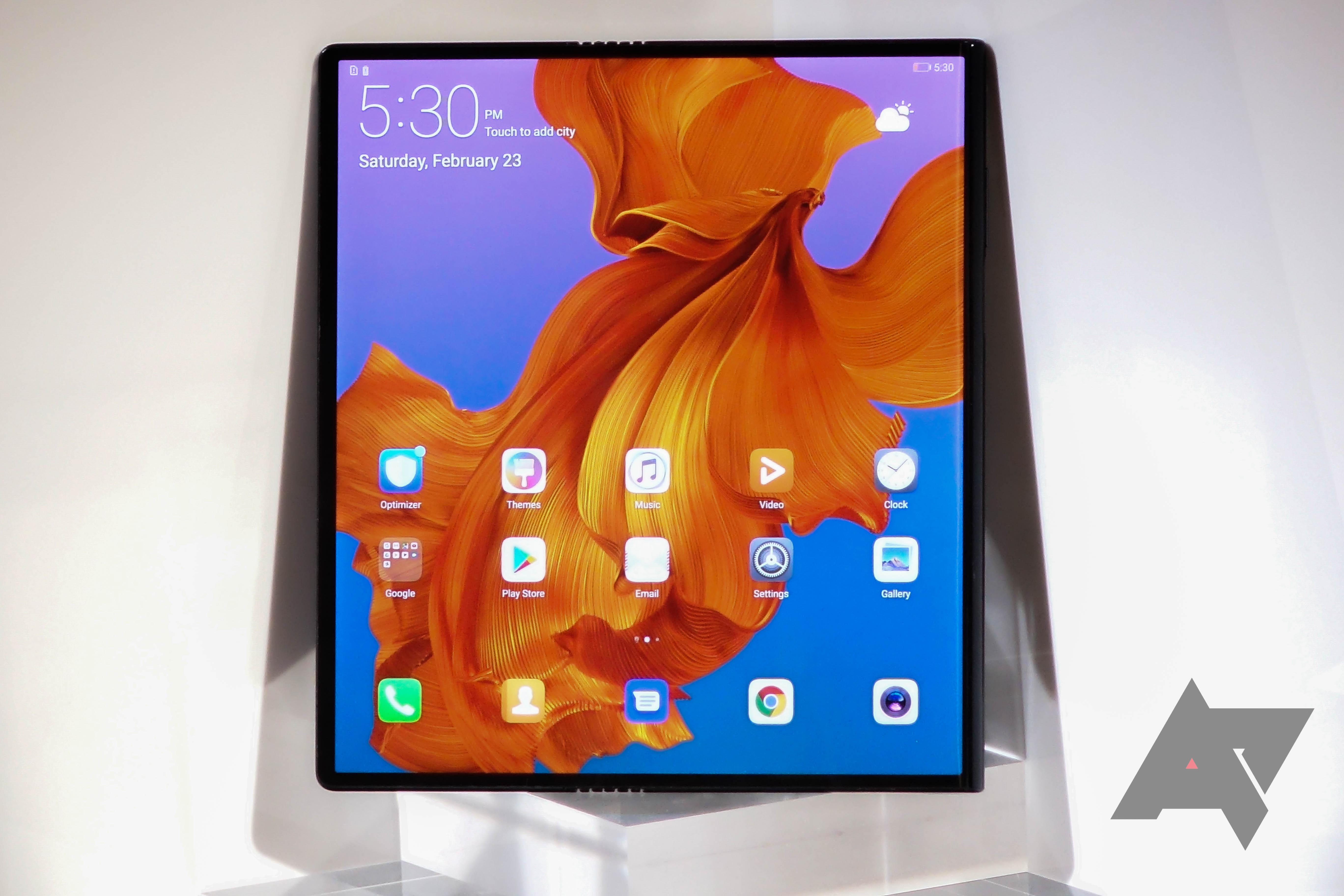 Huawei Mate Xs: nová generace nabídne odolnější displej