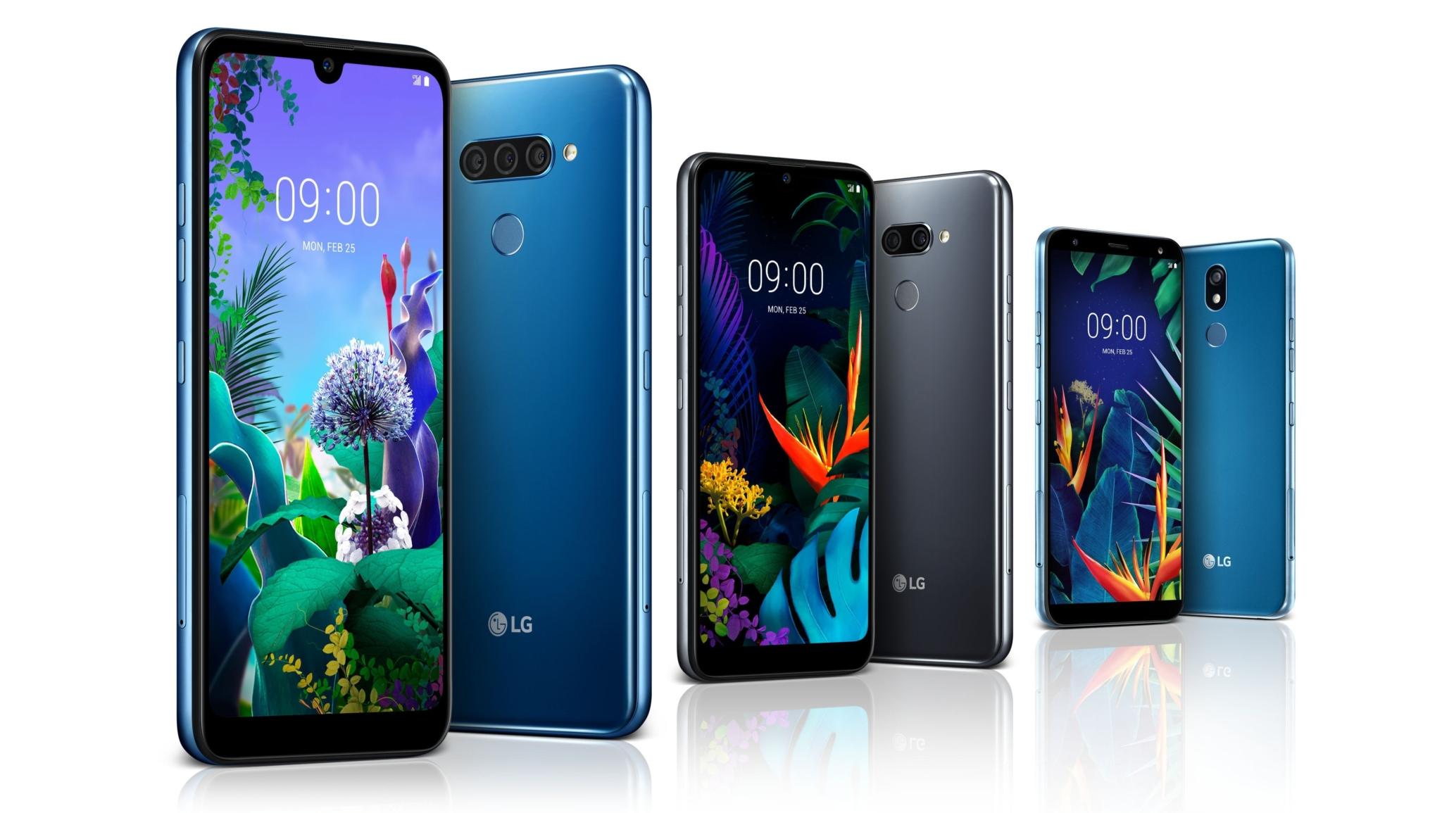 LG představilo mobily Q60, K50 a K40, zamíří do střední třídy [MWC]