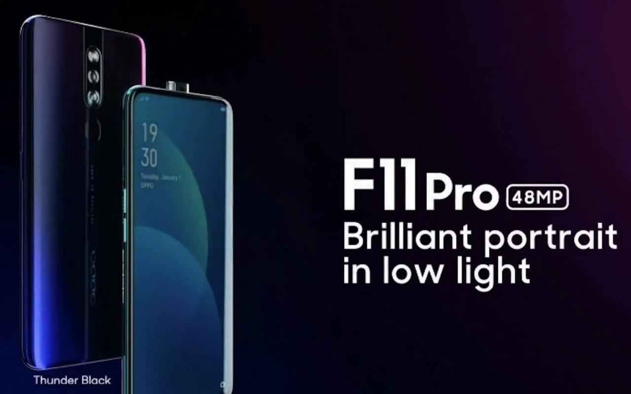 Chystá se OPPO F11 Pro, nabídne Panoramic Display či 48Mpx fotoaparát