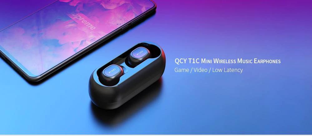 Bezdrátová sluchátka QCY T1C Mini nyní ve slevě za 333 Kč! [sponzorovaný článek]