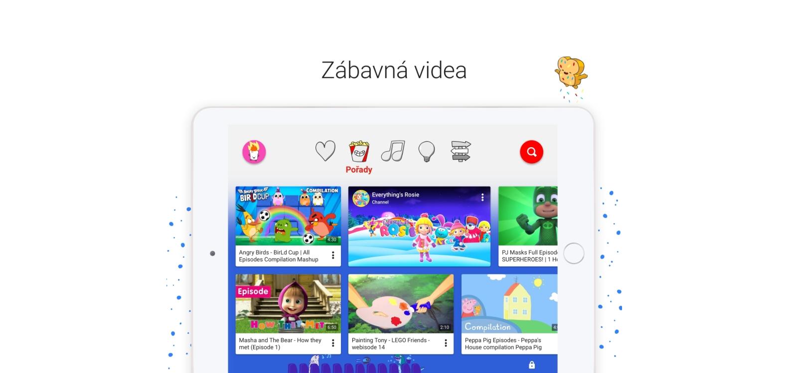 Youtube Kids přichází do České republiky