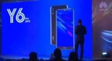Huawei oznámil Y6 Pro 2019 s koženými zády