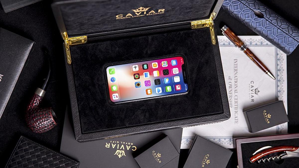 iPhone XS a XS Max ve speciální edici s cenou překračující 100 000 Kč
