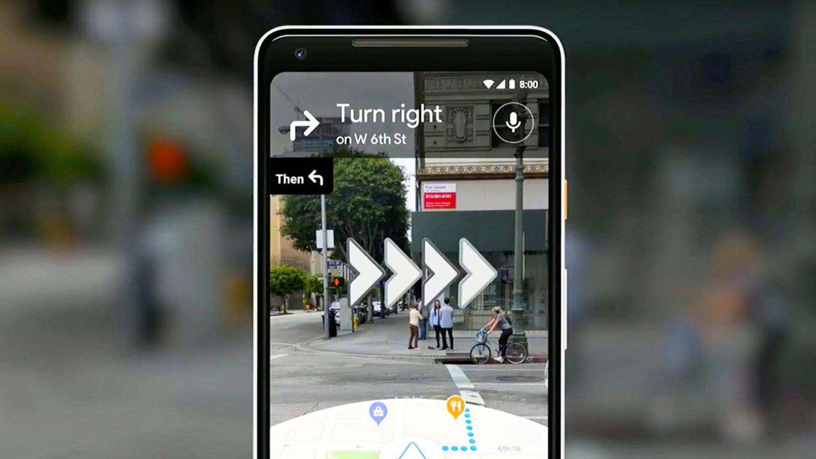 Google Mapy AR – rozšiřuje se okruh testerů [aktualizováno]