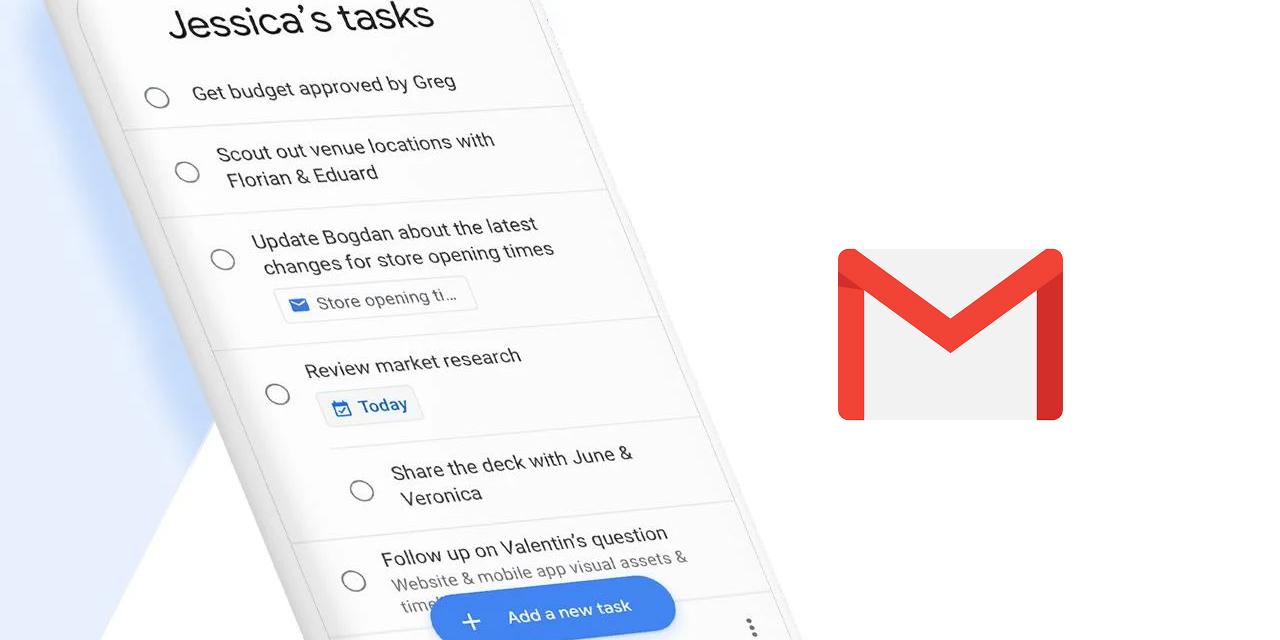 Úkoly Google získávají integraci do Gmailu [aktualizováno]