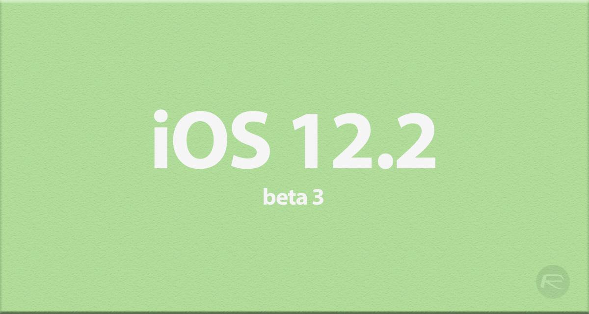 Apple publikoval iOS 12.2 beta 3 pro veřejné testery [aktualizováno]