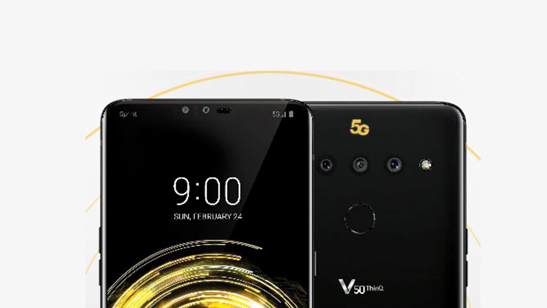 LG V50 ThinQ se poodhaluje na obrázku