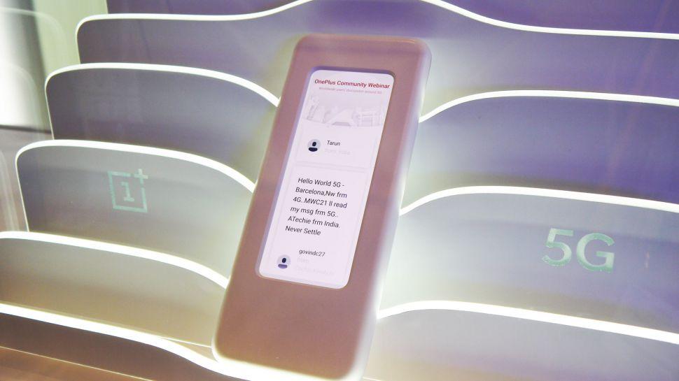 OnePlus naznačil 5G model, displej bude mít poměr 21:9 [MWC]