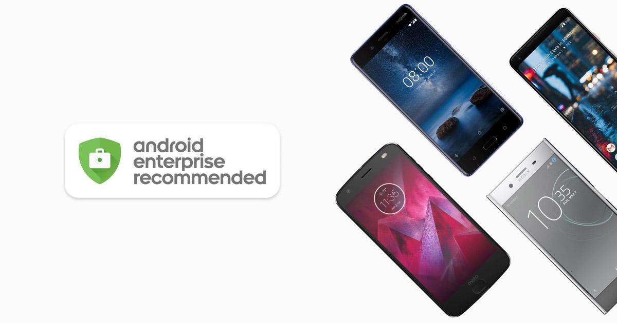 Google získal certifikace pro Android Enterprise