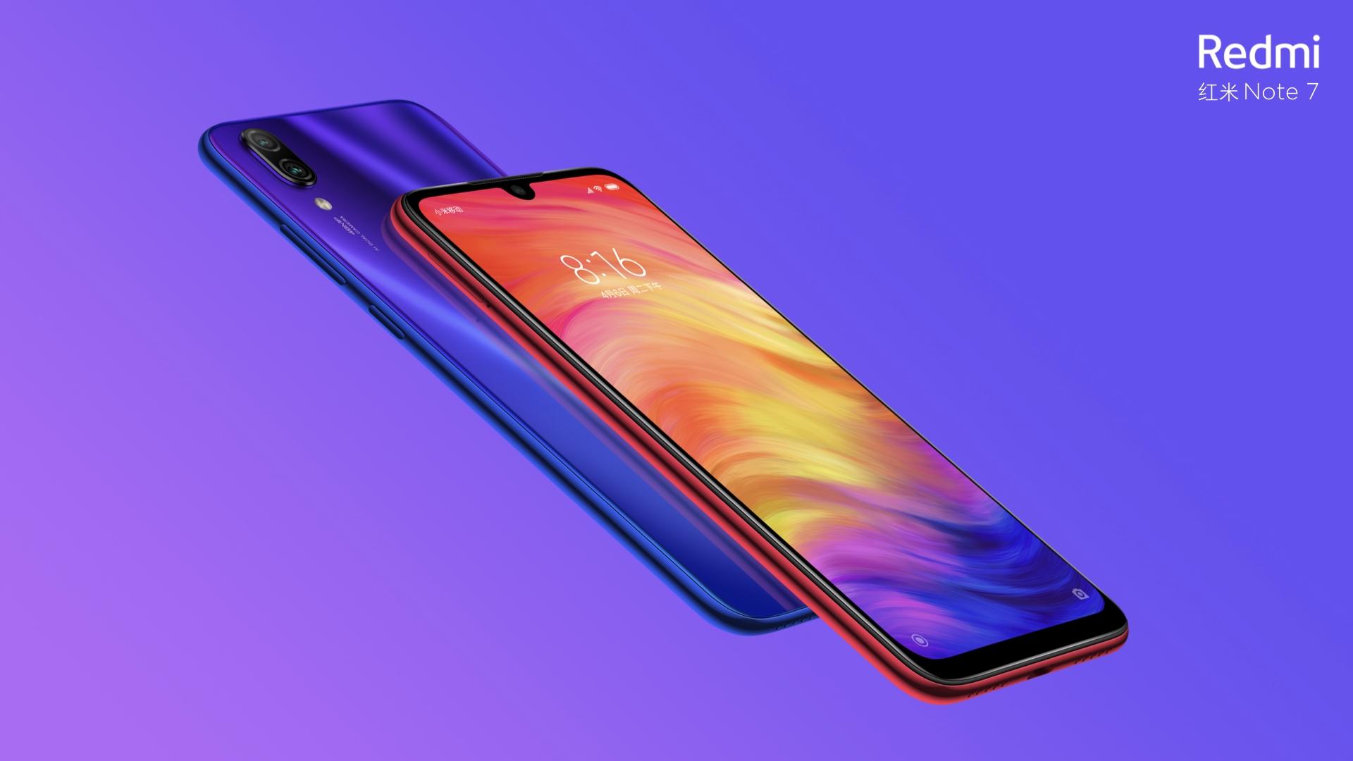 Redmi Note 7 Pro bude mít čtečku otisků prstů v displeji [aktualizováno]