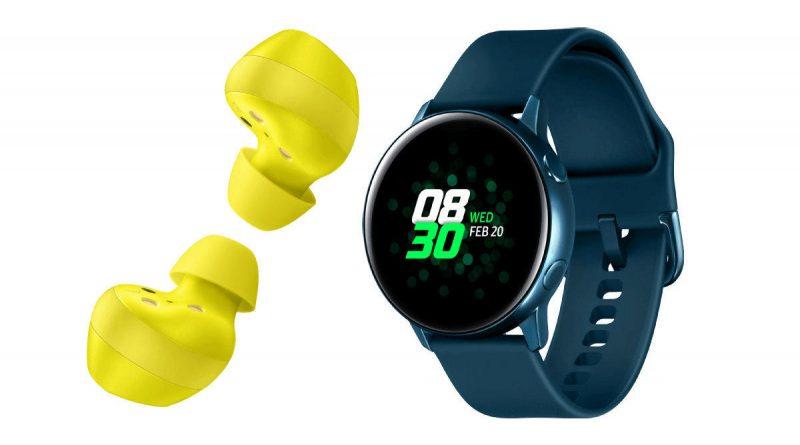 Samsung představil Galaxy Watch Active, Galaxy Buds a další