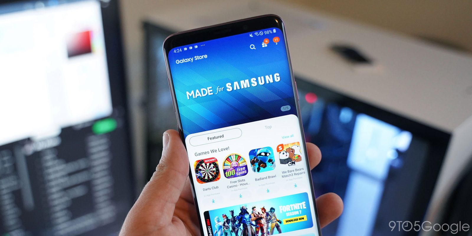 Přivítejte Galaxy Store, přepracovaný obchod s aplikacemi od Samsungu