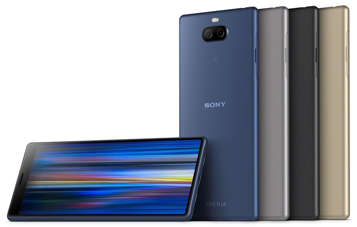 Sony Xperia 10 Plus s protáhlým displejem za 10 990 Kč [MWC]