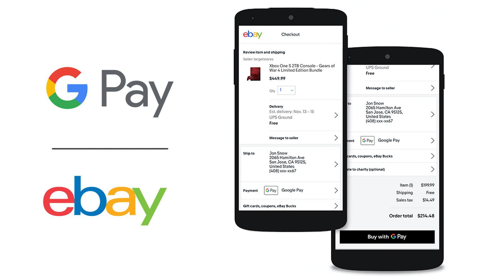 eBay začíná podporovat platby Google Pay