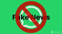 Stop fake news, WhatsApp pracuje na speciálním nástroji