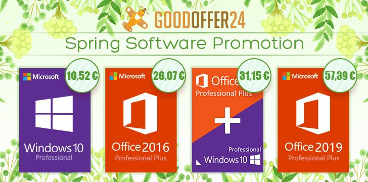 Jarní nabídka softwaru od Goodoffer24! [Sponzorovaný článek]