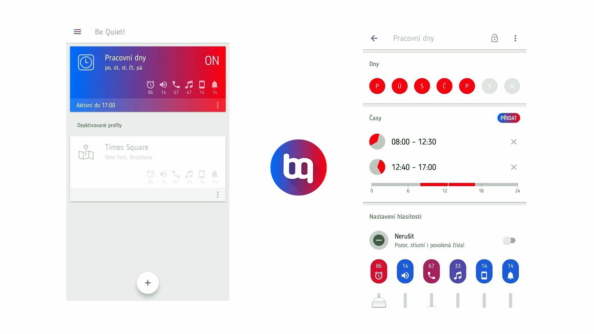 Aplikace Be Quiet! je nový manažer hlasitosti smartphonu