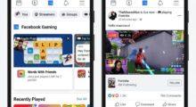 Facebook Gaming získává nové místo v mobilní aplikaci
