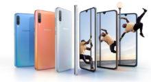 Samsung Galaxy A70 představen, přijde na 10 499 Kč [aktualizováno]