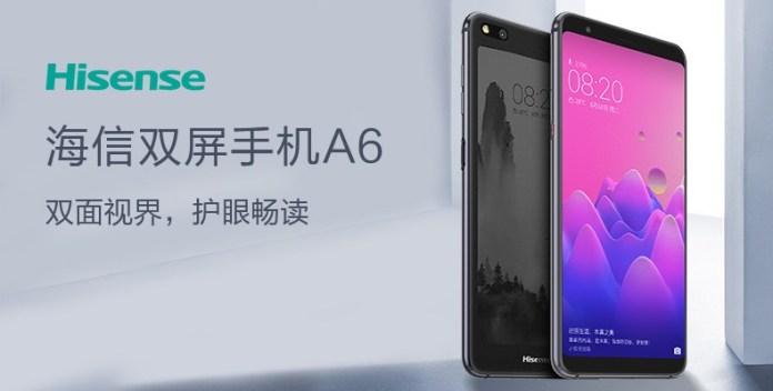 Nový HiSense A6 nemá daleko od YotaPhone